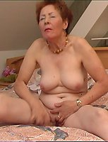 Horny Mature Chick Goes Stripped