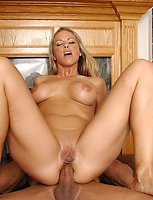 Amazing MILF Kayla getting her mouth pussy and ass hardfucked