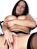 MILF loves doing it with dildoes